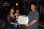 An Appreciation from Sanur Paradise Plaza Hotel